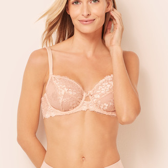 Talbots Balconette Unlined Lace Bra