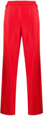 Area crystal embellished track trousers