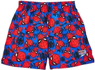 Speedo Boys Spider-Man 11 Inch Watershort - Blue Red