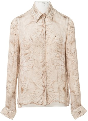 Givenchy Beige Silk Tops