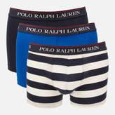 Polo Ralph Lauren Men's 3 Pack Classic Trunk Boxer Shorts