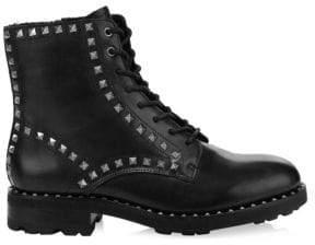 Ash Rock Stud Combat Boots