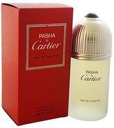 Cartier Pasha De Eau de Toilette Spray for Men, 3.3 Fluid Ounce