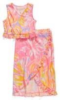 Girl's Lilly Pulitzer Rebekah Top & Skirt Set