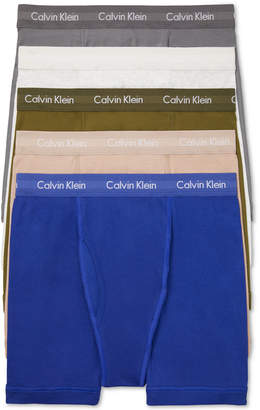 Calvin Klein Men 5-Pk. Cotton Classics Boxer Briefs