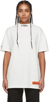 Heron Preston White Style T-Shirt