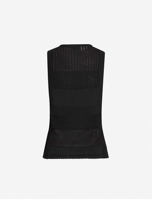 3.1 Phillip Lim Sleeveless relaxed-fit cotton-knit vest