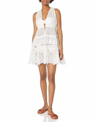 Ramy Brook Women's Luiza DEEP V-Neck Mini Dress