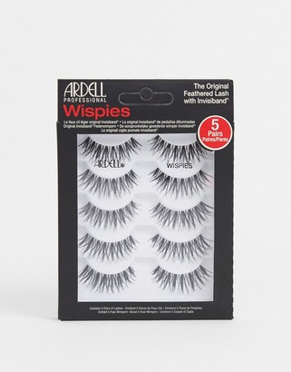 Ardell Lashes Multipack Wispies x5