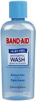 Safety First Band-Aid Hurt Free Antiseptic Wash - 6 oz