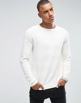 ONLY & SONS Sweater With Tonal Stripe Detail