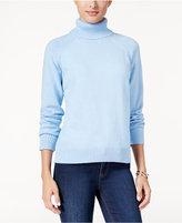 Karen Scott Marled Turtleneck Sweater, Only at Macy's