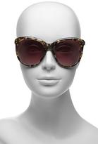 Diane von Furstenberg Riley Round Frame Sunglasses