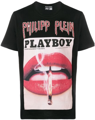 Philipp Plein Playboy cover T-shirt
