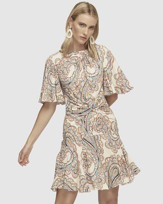Lover Paisley Park Mini Dress