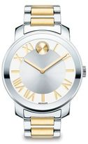 Movado Bold Luxe Two-Tone Stainless Steel Bracelet Watch/39MM