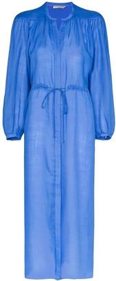 Three Graces Julienne drawstring midi dress
