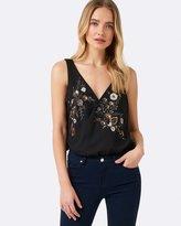 Forever New Martina Embroidered Bodysuit