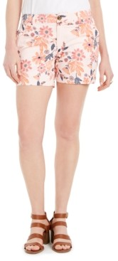 Style&Co. Style & Co Floral-Print Shorts, Created for Macy's