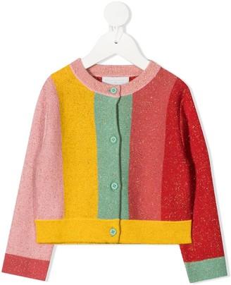 Stella McCartney Kids Stripe Knit Cardigan