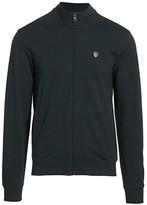 Emporio Armani Core Shield Full-Zip Sweater