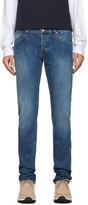 Kenzo Navy Stone Washed Jeans
