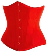 GoFashion2014 Colorful Sexy Vintage Satin Underbust Corset Bustier Top Body Bridal Waspie,Waist Cincher
