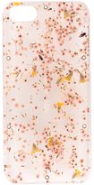 Anrealage pressed flower iPhone 5S/SE case - men - Resin - One Size