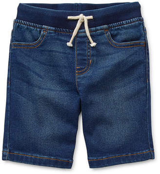 Okie Dokie Boys Denim Short - Toddler