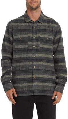 Billabong Offshore Stripe Flannel Button-Up Shirt