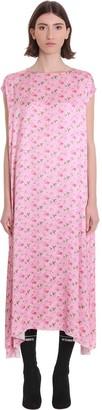 Vetements Dress In Rose-pink Viscose