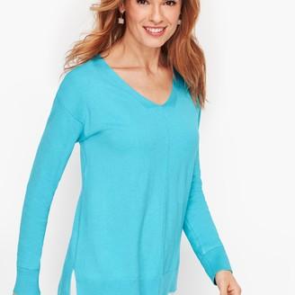Talbots Spa Blend V-Neck Sweater