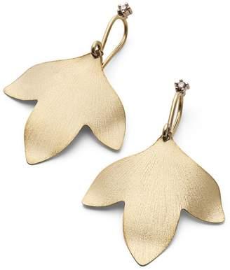 H.Stern Yellow Gold and Diamond Hera Earrings