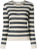 Vanessa Bruno striped cropped sweater