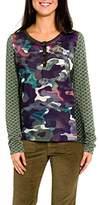 Smash Wear Women's Diagonal Camiseta Manga Larga Militar-A1613336 Long-Sleeve T-Shirt