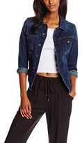 G Star Women's 3301 Denim Jacket in Neutro Stretch Denim