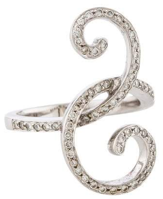 Ring Diamond Spiral