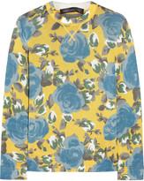 Marc by Marc Jacobs Jerrie floral-print jersey sweatshirt