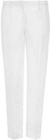 No.21 No. 21 Brunilde Silk Straight Legged Pants