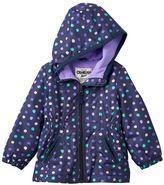 Osh Kosh Baby Girl Hooded Fleece-Lined Jacket