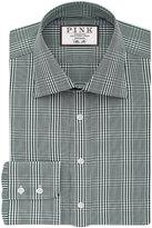 Thomas Pink Humphrey Check Slim Fit Button Cuff Shirt