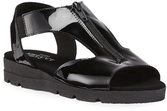 Sesto Meucci Silas Comfort Zip Sandals