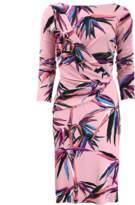 Emilio Pucci Ruched Bamboo Dress