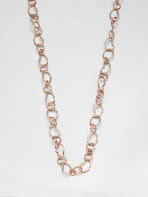 Ippolita Rose Carino Long Kidney Chain Necklace