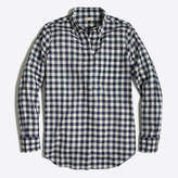 J.Crew Factory Gingham classic button-down shirt in boy fit