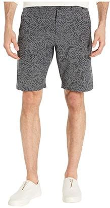 Travis Mathew Power Lounging Shorts (Quiet Shade/Black) Men's Shorts