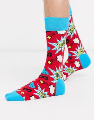 Happy Socks fathers day socks