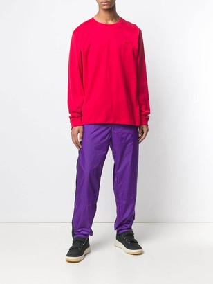 Acne Studios Phoenix Track Pants Purple