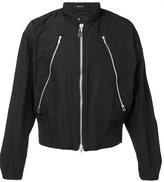 Issey Miyake slim-fit zipped jacket