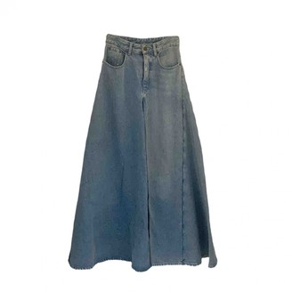 Y/Project Blue Denim - Jeans Trousers for Women